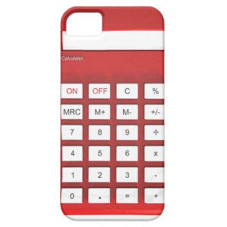 Funda Para iPhone SE/5/5s Calculadora roja de la calculadora