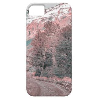 Funda Para iPhone SE/5/5s Camino vacío de la grava - Parque Nacional Los