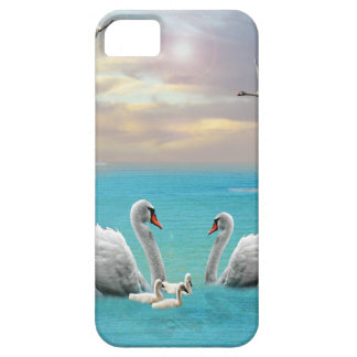 Funda Para iPhone SE/5/5s Canción del cisne blanco,