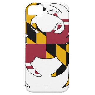 Funda Para iPhone SE/5/5s Cangrejo de la bandera de Maryland