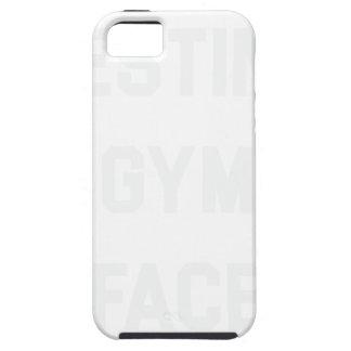 Funda Para iPhone SE/5/5s Cara de reclinación del gimnasio