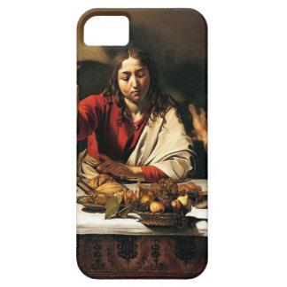 Funda Para iPhone SE/5/5s Caravaggio - cena en Emmaus - pintura clásica