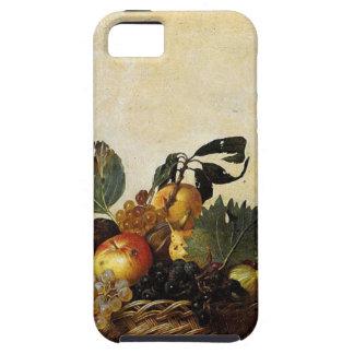 Funda Para iPhone SE/5/5s Caravaggio - cesta de fruta - ilustraciones