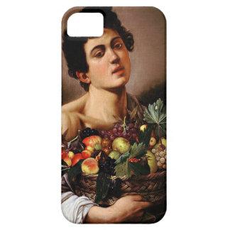 Funda Para iPhone SE/5/5s Caravaggio - muchacho con una cesta de