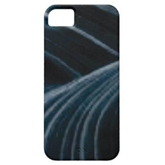 Funda Para iPhone SE/5/5s carriles negros de la sombra