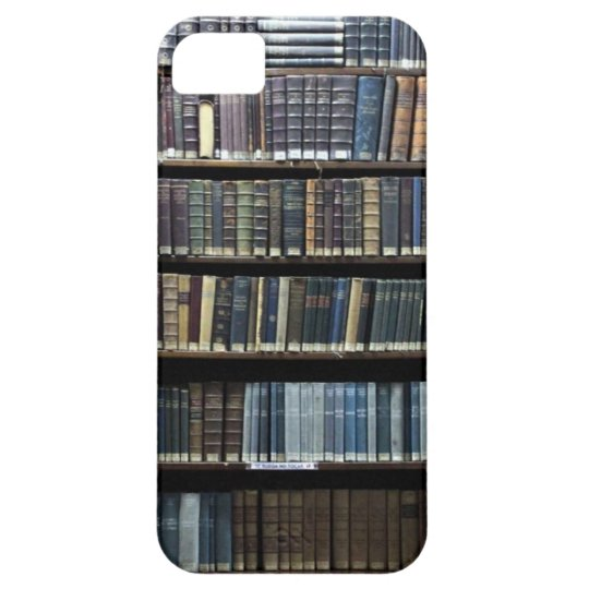 "Funda Para iPhone SE/5/5s CASE iPhone 5 ""LIBRARY """