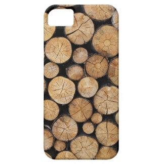 Funda Para iPhone SE/5/5s Caso de madera del iPhone