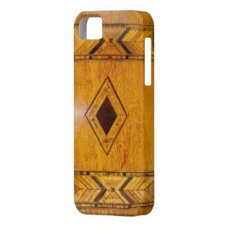 Funda Para iPhone SE/5/5s caso de madera del iphone 5 del vintage
