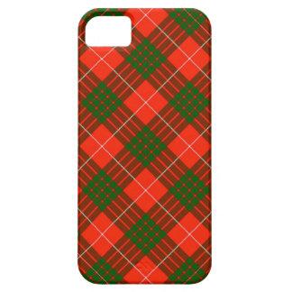 Funda Para iPhone SE/5/5s Caso del iPhone 5/5S Barely There del tartán de