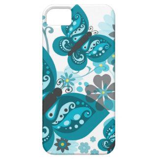 Funda Para iPhone SE/5/5s Caso del iPhone 5/5S de las mariposas y de las