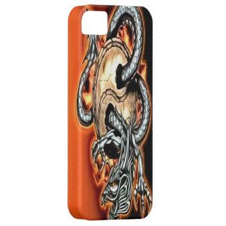 Funda Para iPhone SE/5/5s Caso del iPhone 5 del dragón de Yin Yang