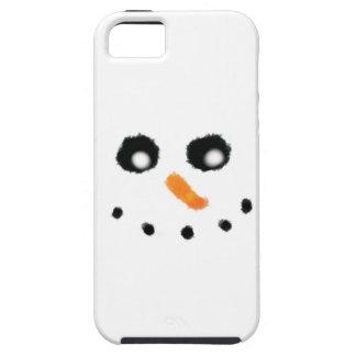 Funda Para iPhone SE/5/5s Caso del iPhone de la cara del muñeco de nieve