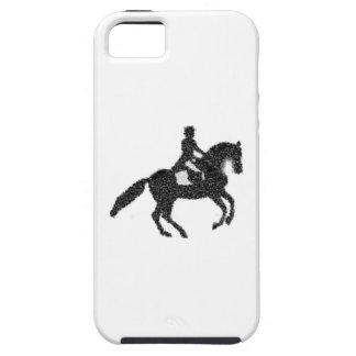 Funda Para iPhone SE/5/5s Caso del iPhone del Dressage - caballo y jinete