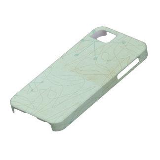 Funda Para iPhone SE/5/5s Caso del iPhone del modelo de la edad atómica de