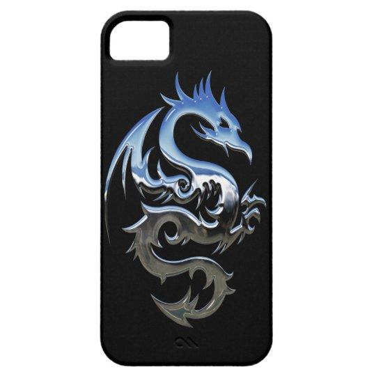 Funda Para iPhone SE/5/5s Caso del iPhone SE/5/5S Barely There del dragón