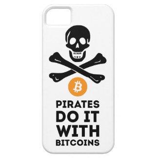 Funda Para iPhone SE/5/5s Caso del pirata de Bitcoin