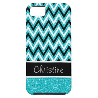 Funda Para iPhone SE/5/5s Caso duro del iPhone 5 de Chevron del negro del