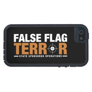 Funda Para iPhone SE/5/5s Caso falso del iPhone 5 del terror de la bandera