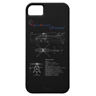 Funda Para iPhone SE/5/5s Caso magnífico del iPhone de AgustaWestland AW109