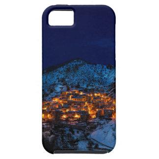 Funda Para iPhone SE/5/5s Castelmezzano Italia en la noche