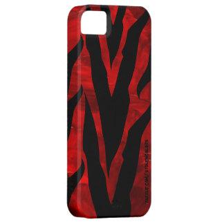 Funda Para iPhone SE/5/5s Cebra Iphone rojo 5
