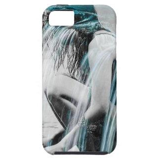 Funda Para iPhone SE/5/5s Chica en la cascada