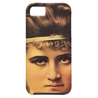 Funda Para iPhone SE/5/5s Chica estoico con mirada intensa