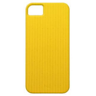 Funda Para iPhone SE/5/5s Chica que camina contra la pared amarilla enorme
