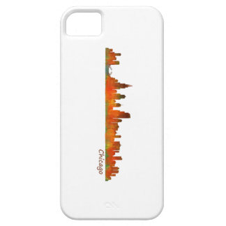 Funda Para iPhone SE/5/5s chicago Illinois US city skyline v01