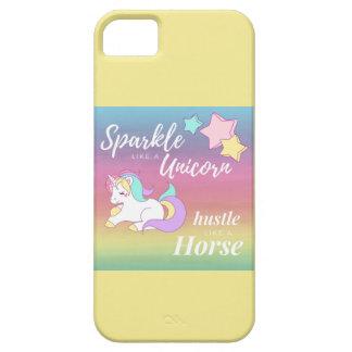 Funda Para iPhone SE/5/5s Chispa como una caja del teléfono del unicornio