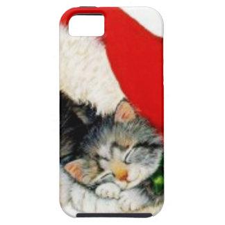 Funda Para iPhone SE/5/5s christmas_cat_dog_hat