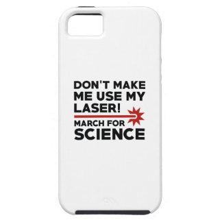 Funda Para iPhone SE/5/5s Ciencia marzo del laser
