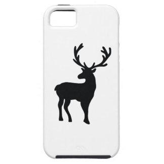 Funda Para iPhone SE/5/5s Ciervos blancos y negros