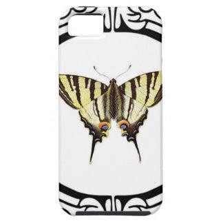 Funda Para iPhone SE/5/5s círculo de la mariposa