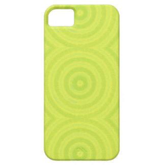 Funda Para iPhone SE/5/5s Círculos verdes
