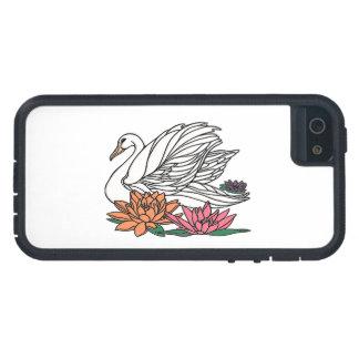 Funda Para iPhone SE/5/5s Cisne 2
