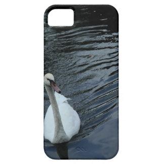 Funda Para iPhone SE/5/5s Cisne blanco