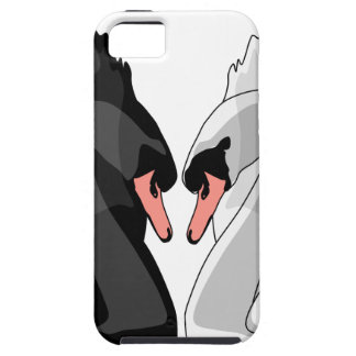Funda Para iPhone SE/5/5s cisnes