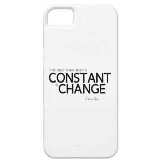 Funda Para iPhone SE/5/5s CITAS: Heraclitus: Cambie es constante