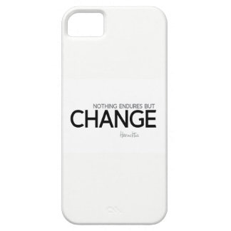 Funda Para iPhone SE/5/5s CITAS: Heraclitus: Nada aguanta solamente cambio