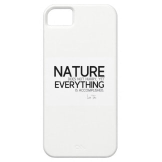 Funda Para iPhone SE/5/5s CITAS: Lao Tzu: Naturaleza, lograda