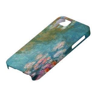 Funda Para iPhone SE/5/5s Claude Monet, charca del lirio en Giverny