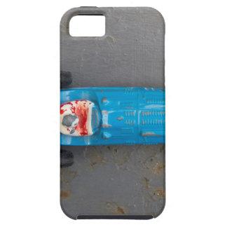 Funda Para iPhone SE/5/5s Coche azul del juguete