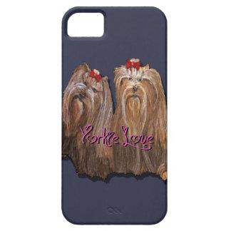 Funda Para iPhone SE/5/5s Colección del amor de Yorkie