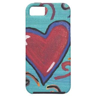 Funda Para iPhone SE/5/5s Colección roja de los corazones