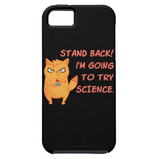 Funda Para iPhone SE/5/5s Coloqúese que vuelve intentar el gatito divertido