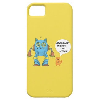 Funda Para iPhone SE/5/5s Coloqúese que vuelve intentar el gato divertido
