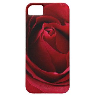 Funda Para iPhone SE/5/5s color de rosa de color rojo oscuro