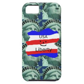 Funda Para iPhone SE/5/5s Colores de la bandera de los E.E.U.U. con la