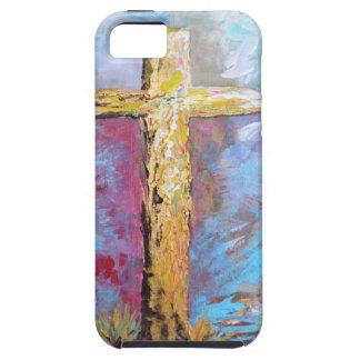 Funda Para iPhone SE/5/5s Colores de la cruz